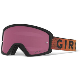 Giro Blok MTB Laskettelulasit, black/red hypnotic/vivid trail/clear